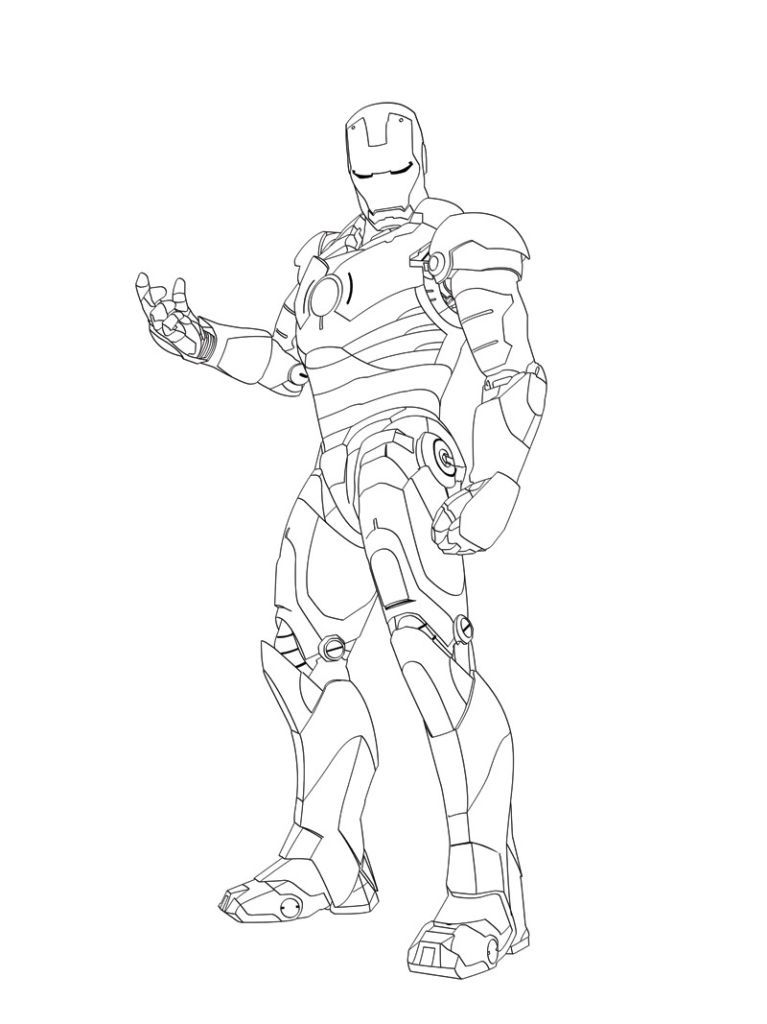 Iron Man Coloring Pages | ironman | Pinterest | Iron and ...