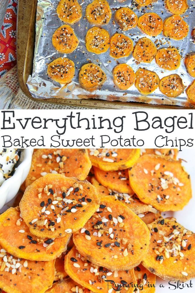 Photo of Everything Bagel Sweet Potato Chips