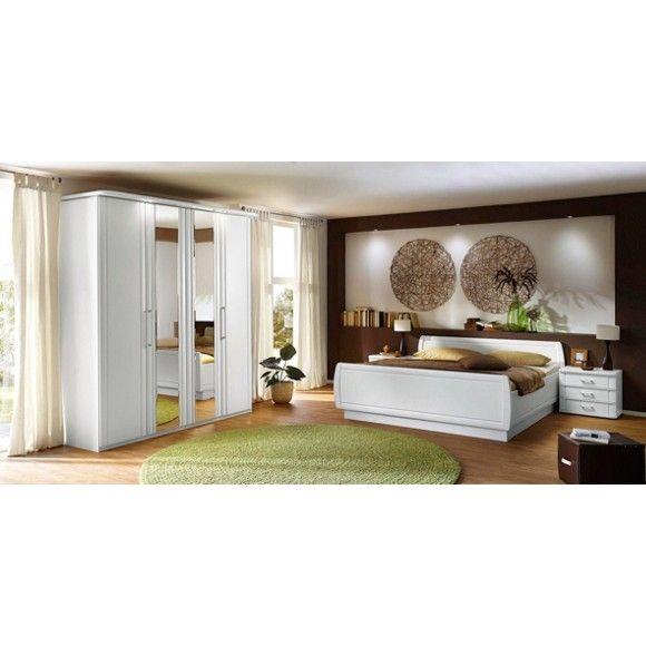 Schlafzimmer in Weiß: VENDA verzaubert mit stimmiger Optik ...