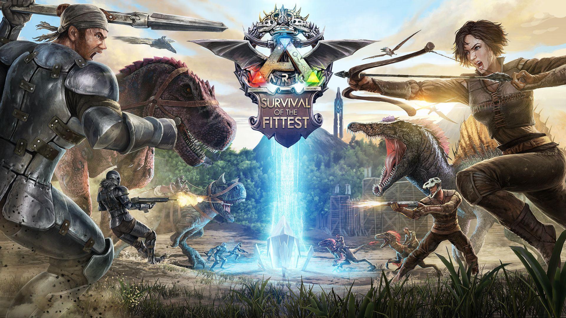 ARK+Survival+of+the+Fittest+sta+per+arrivare+su+PS4 | Ark