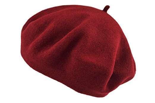 Cappello cloche da donna rosso  49ea7a204455