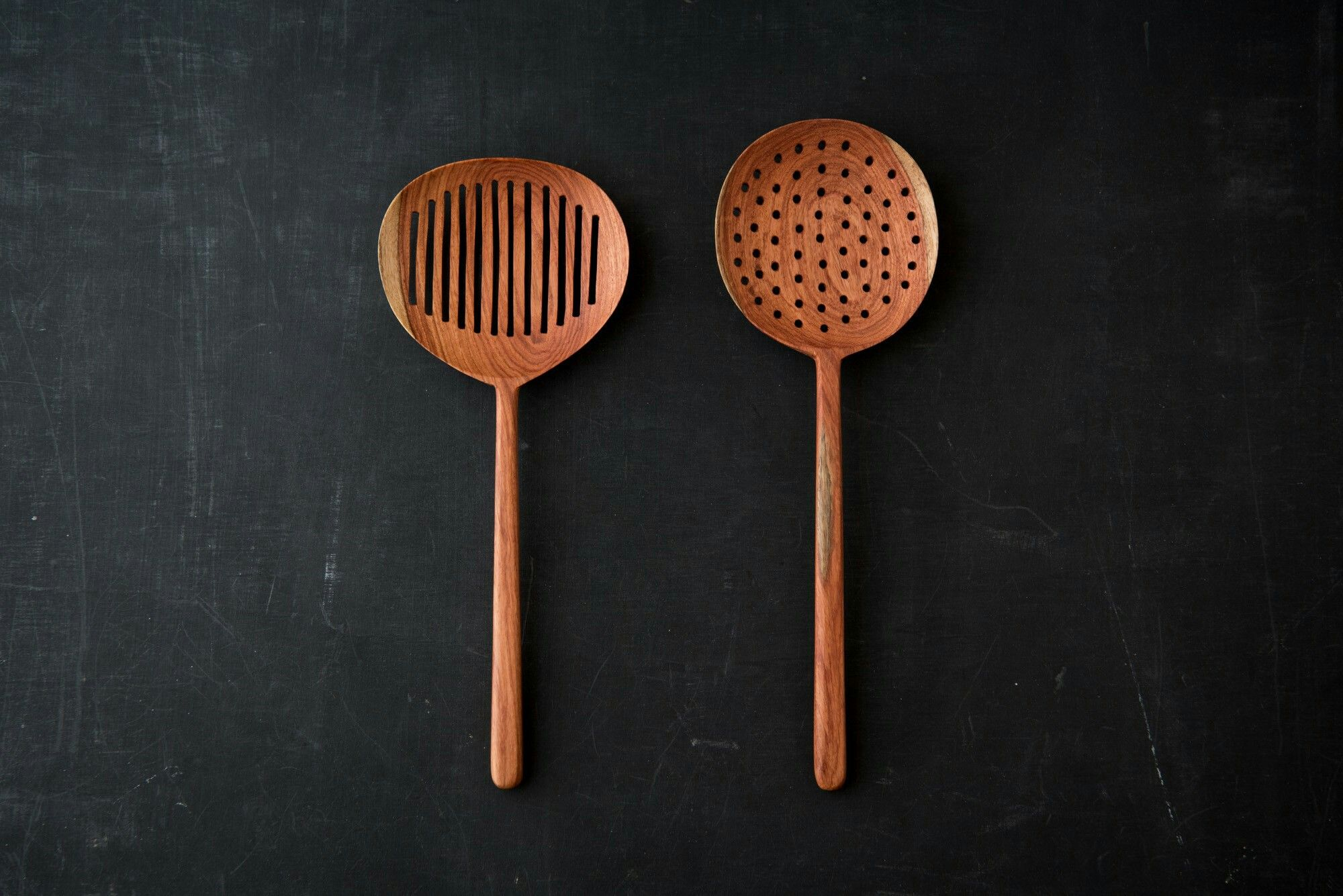 Beautiful wooden spoons