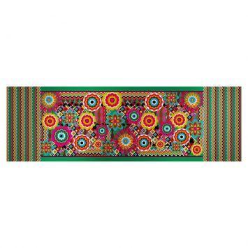 Caminho de mesa zigzag flower - Westwing.com.br - Tudo para uma casa com estilo