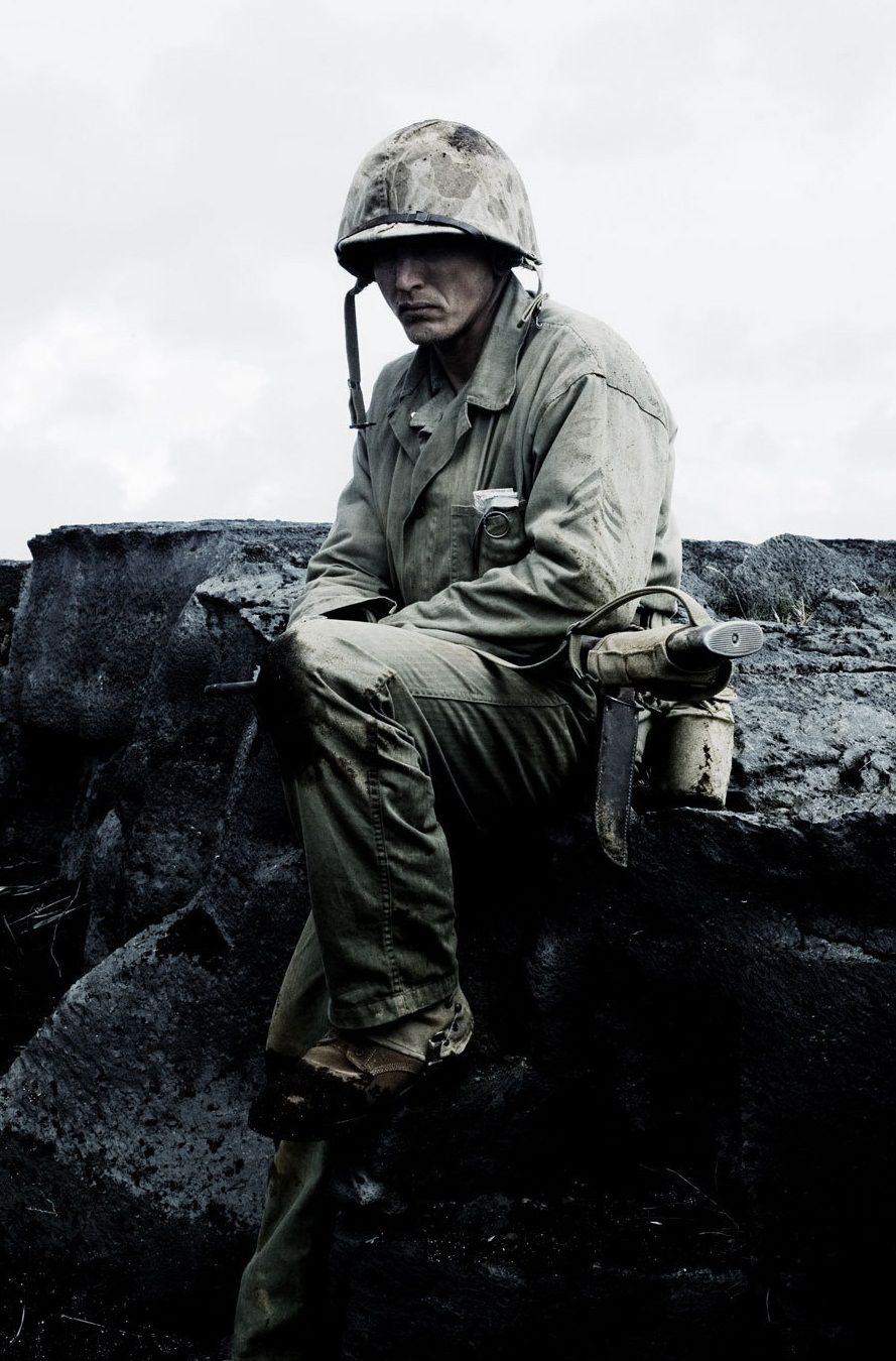 Great Picture Barry Pepper In Flags Of Our Fathers Flags Of Our Fathers Saving Private Ryan Captain America Aesthetic