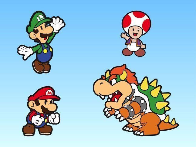 Super Mario Bros Vectores Para Descargar Gratis Laura López Mario Bros Toad Mario Bros Super Mario Bros