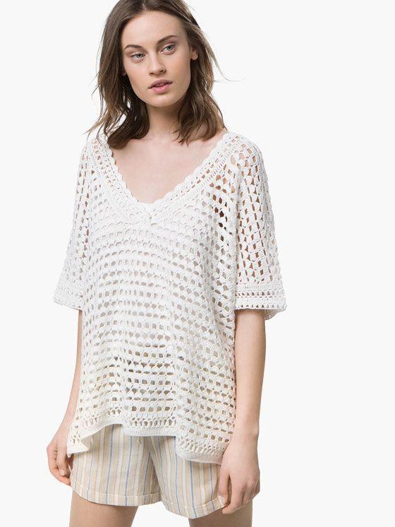 CROCHET CAPE | Fashion Trends Summer 2016 | Pinterest | Suéteres de ...