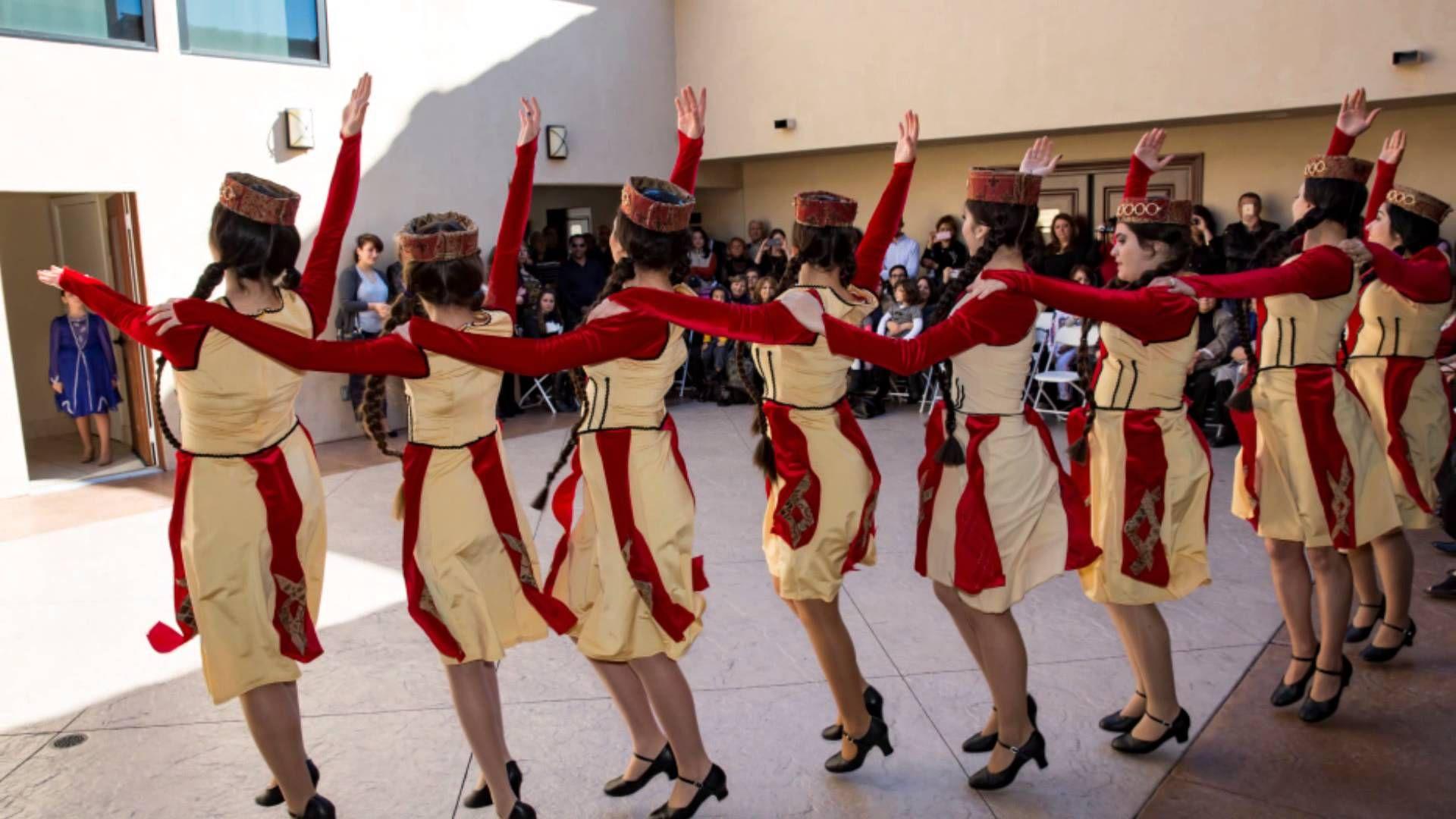 Armenian Dance Academy at Dolma Festival 2015 at St Garabed Church   Las...