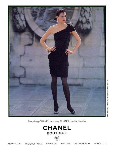 Ines de la Fressange for Chanel, 1990s