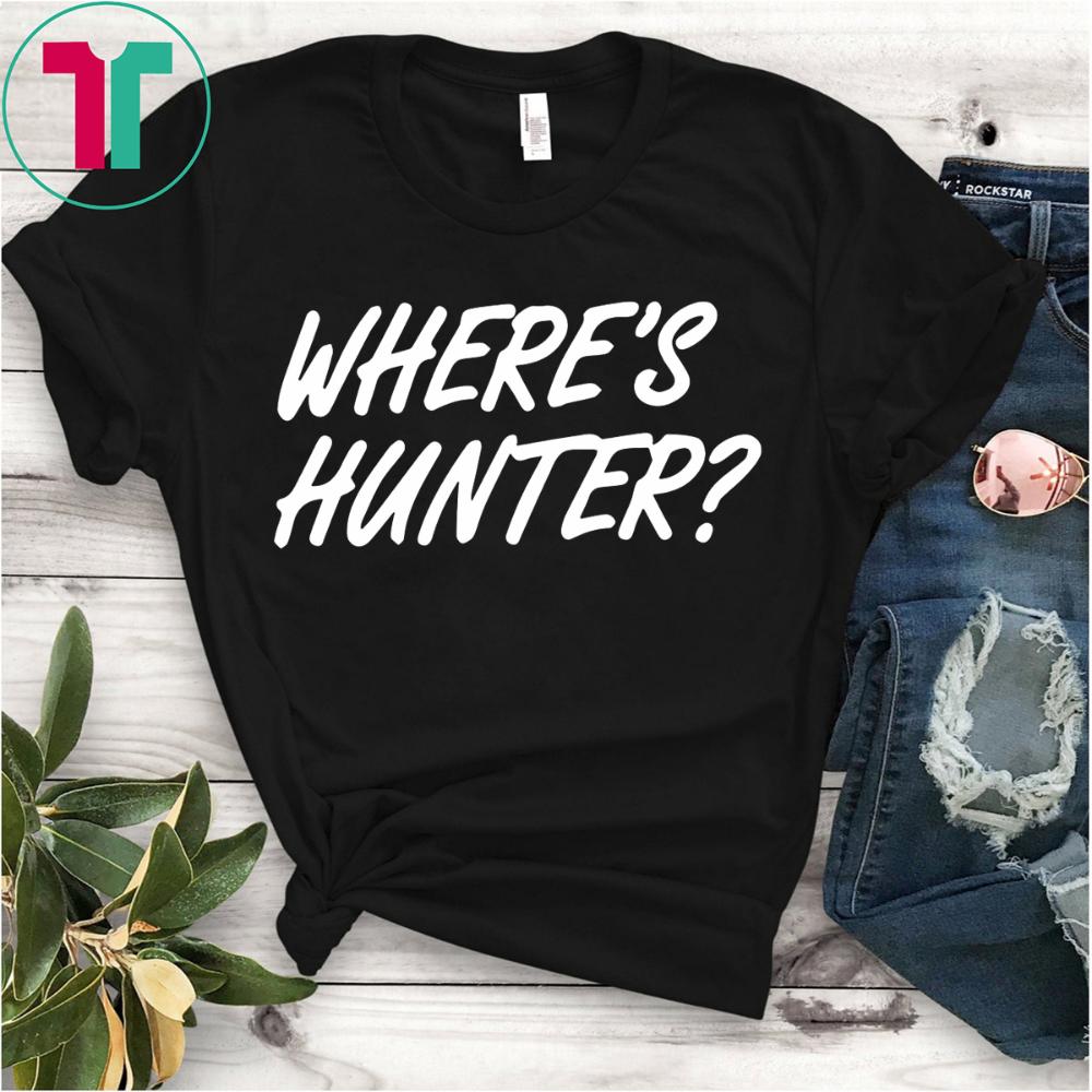 Trump Trolls Joe Biden Where S Hunter Shirt Shirts Boxing T Shirts Stage Shirt
