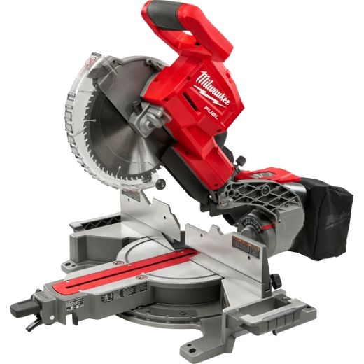 Milwaukee 2734 20 M18 Fuel Dual Bevel Sliding Compound Miter Saw Sliding Mitre Saw Sliding Compound Miter Saw Miter Saw