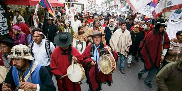 Indigenous Peoples In Argentina Have Been Demanding Respect For