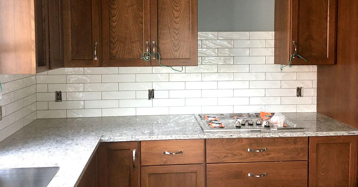 Look Inside! in 2020   Kitchen remodel, Tile backsplash