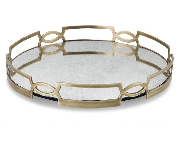 Antique Mirrored Tray   Williams-Sonoma - Antique Mirrored Tray Williams-Sonoma Home Accessories