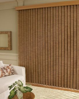 Lovely Vertical Blind Slats Can Be Made Out Of PVC, Fabric, And Faux Wood.
