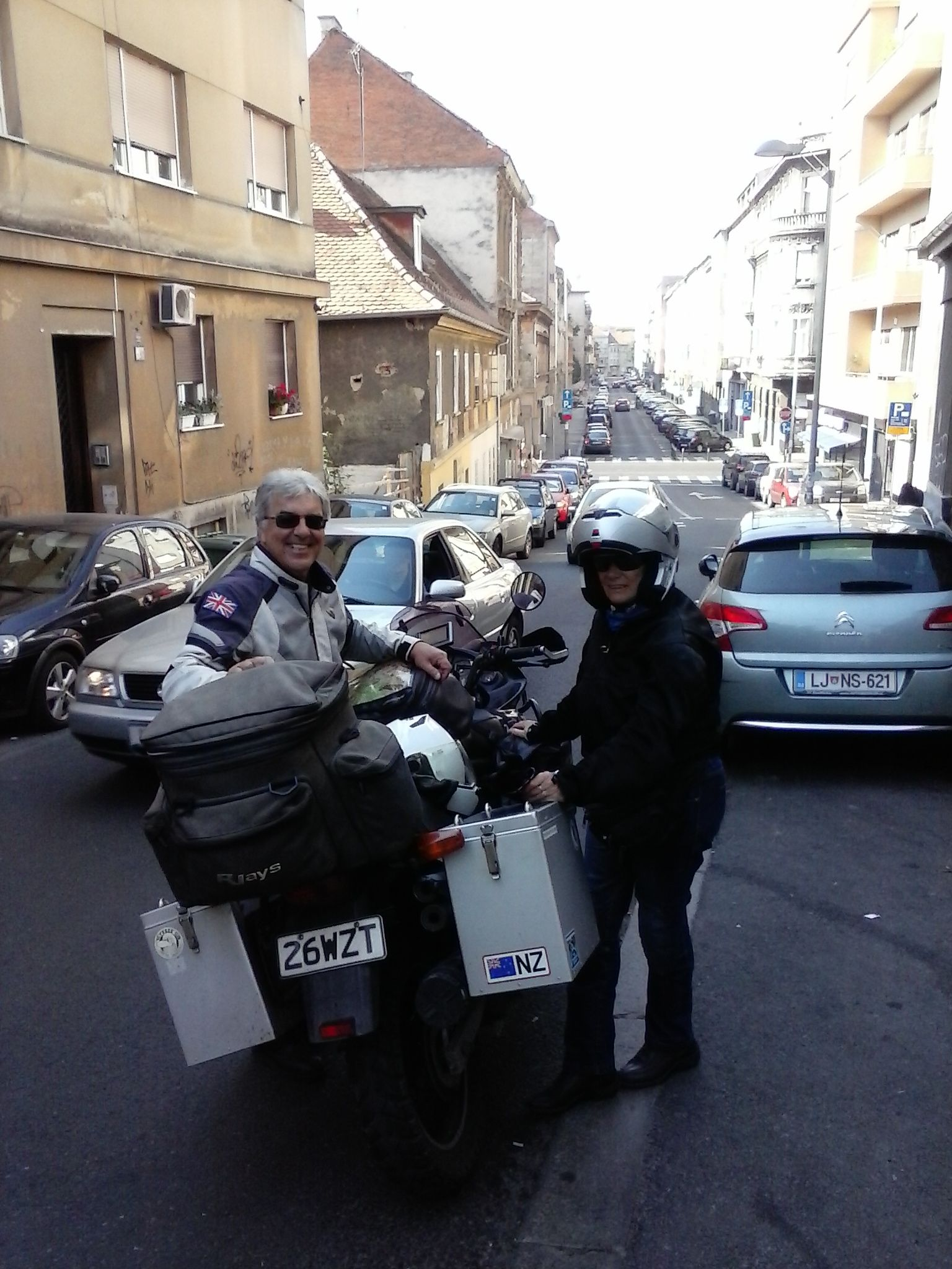 Smile on their faces says it all (Kieth is our old mate). Well rested and ready to continue the trip to UK. Lobagola B&B at your service: http://www.lobagola.com/tours-and-services/services/ #lobagolabnb #zagreb #center #croatia #advrider #rider #motorcycle #bike #cycling #travel #travelerschoice2015 #adventurer #traveler #overland #globaltraveler #overlanding #ktm #bmw #ktmadv #bmwgs #natgeo #visitcroatia #visitzagreb #yellowelephantpath