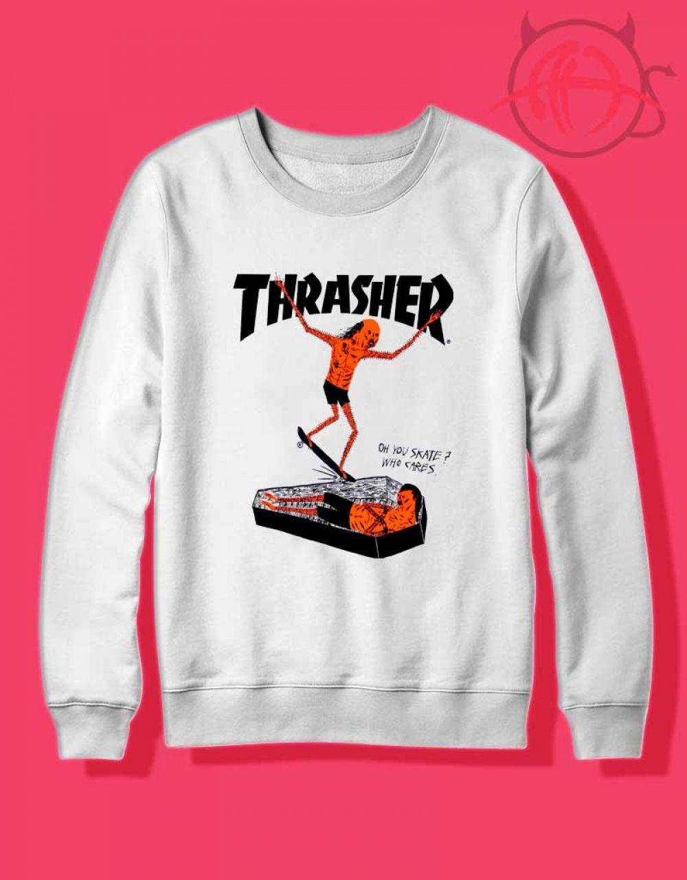 Thrasher Neck Face Crewneck Sweatshirt Size S M L Xl 2xl Ahawking Com Graphic Crewneck Sweatshirt Crew Neck Sweatshirt Sweatshirts [ 1280 x 1000 Pixel ]