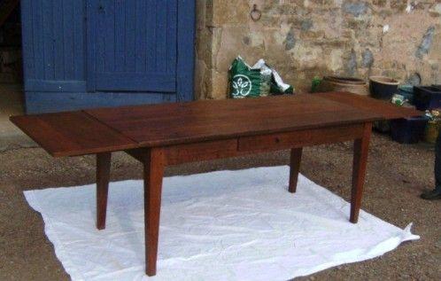 Cette v ritable table de ferme ancienne est en ch ne elle - Cette de table ...