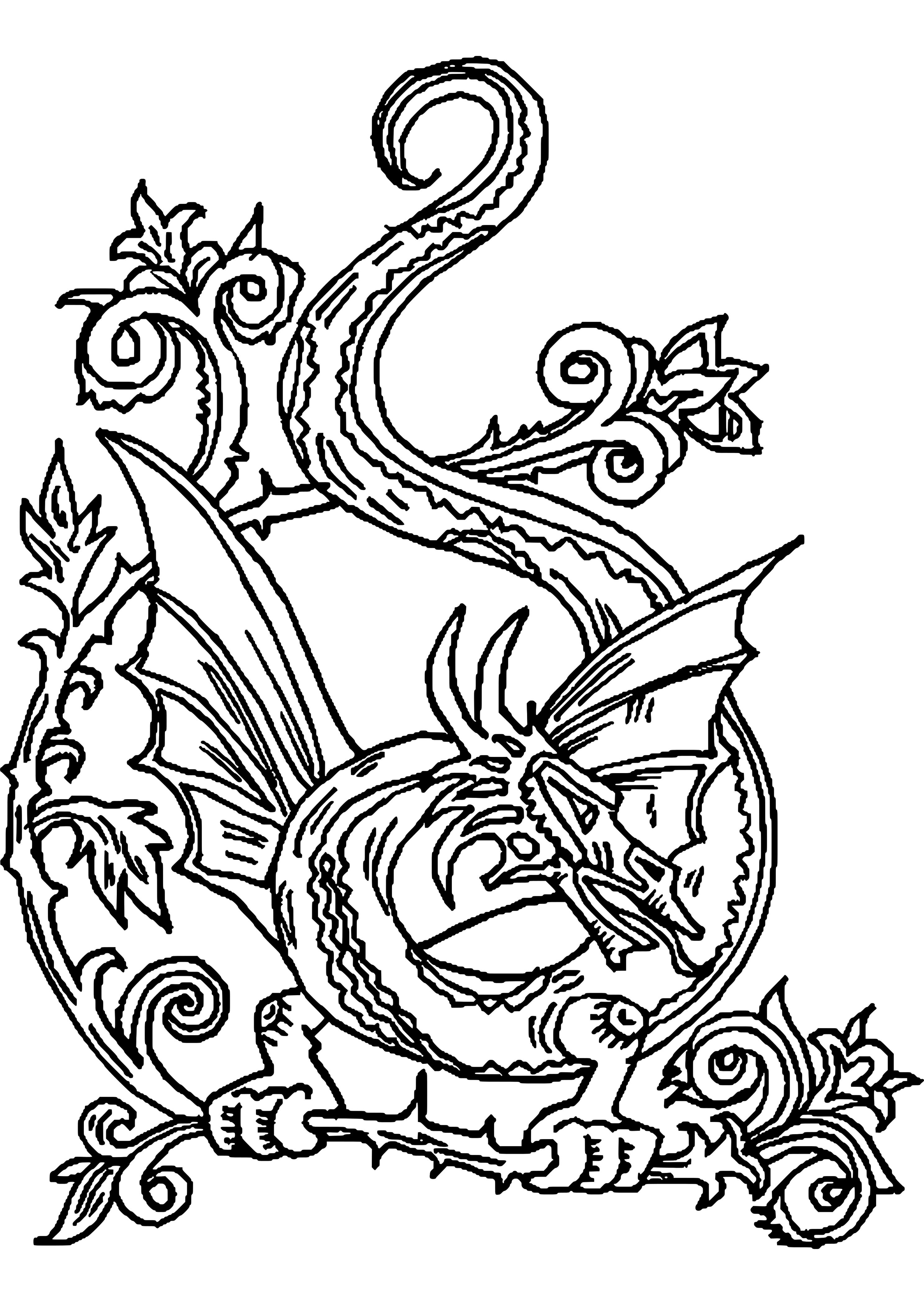 Dibujos De Dragones De Sant Jordi Para Imprimir 1 2975x4200 3375 Png 2975 4200 Malvorlagen Tiere Kostenlose Ausmalbilder Wenn Du Mal Buch