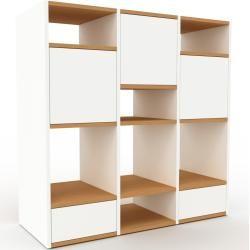 Photo of Regalsystem Weiß – Regalsystem: Schubladen in Weiß & Türen in Weiß – Hochwertige Materialien – 118 x