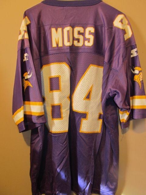 official photos d310a 2fdf2 Vintage Randy Moss Minnesota Vikings Jersey , Starter 52 ...