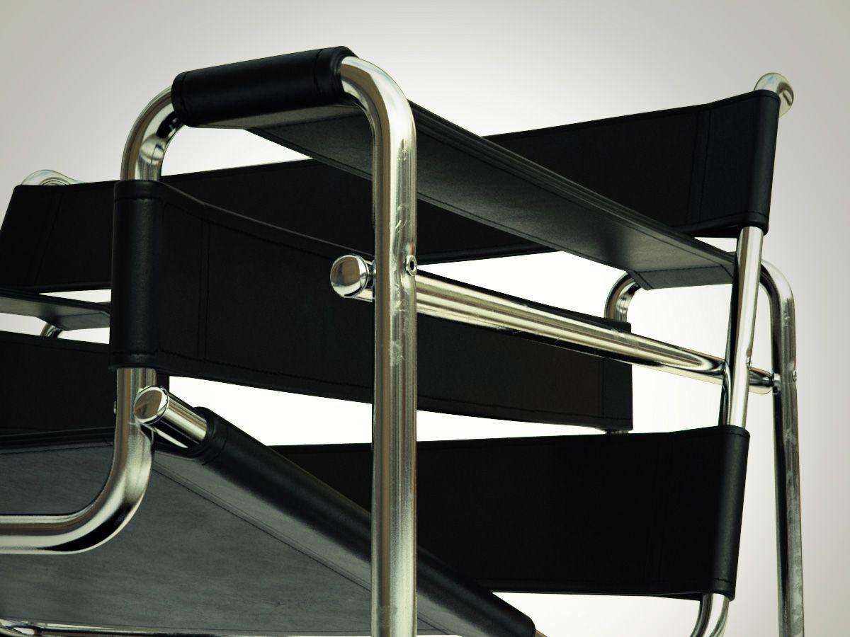 Wassily Chair Design Bauhaus Chaises Decorees Chaise