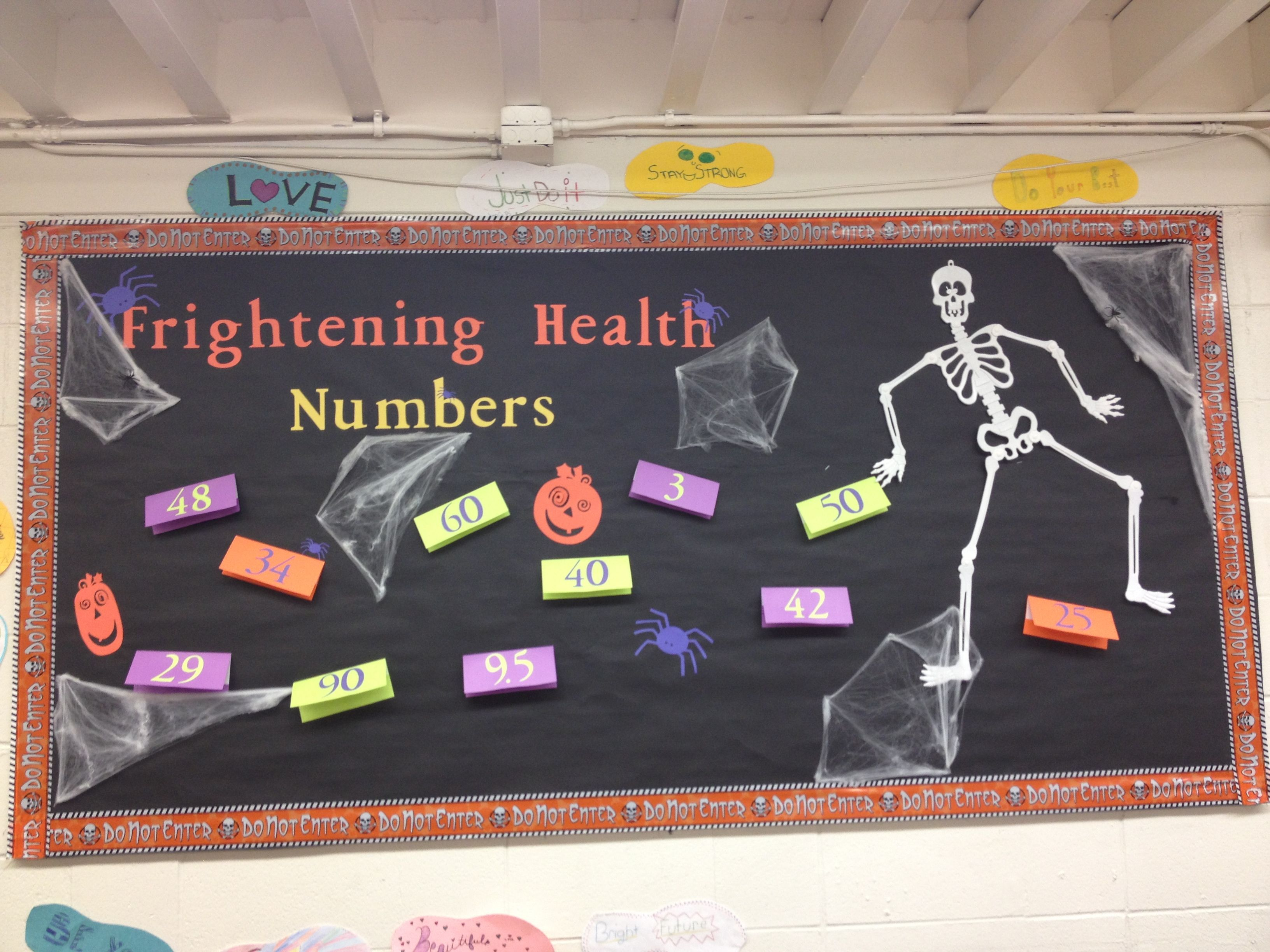 Frightening Health Numbers Copy Cat Miss Diimmel S 8th