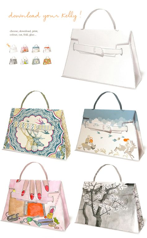 Bring It On Hermes Kelly Bag Purses And Bags Diy Paper