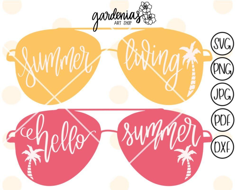 Summer sunglasses svg, Summer svg, Sunglasses svg, Summer