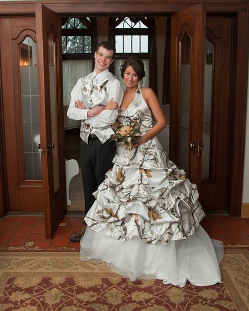 Winter Camo wedding formal wear- I don\'t even know where to start ...