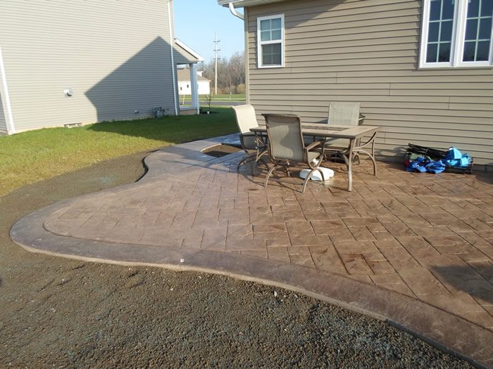 Patios Walkways Gallery Real Help Custom Concrete Company