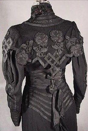 Black Dress, c. 1904 Black Dress