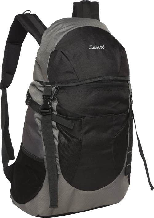 Buy Zwart Black and Grey 32 Ltrs Free Size Backpack   Rucksack from Amazon. 0a3a4ba2f1