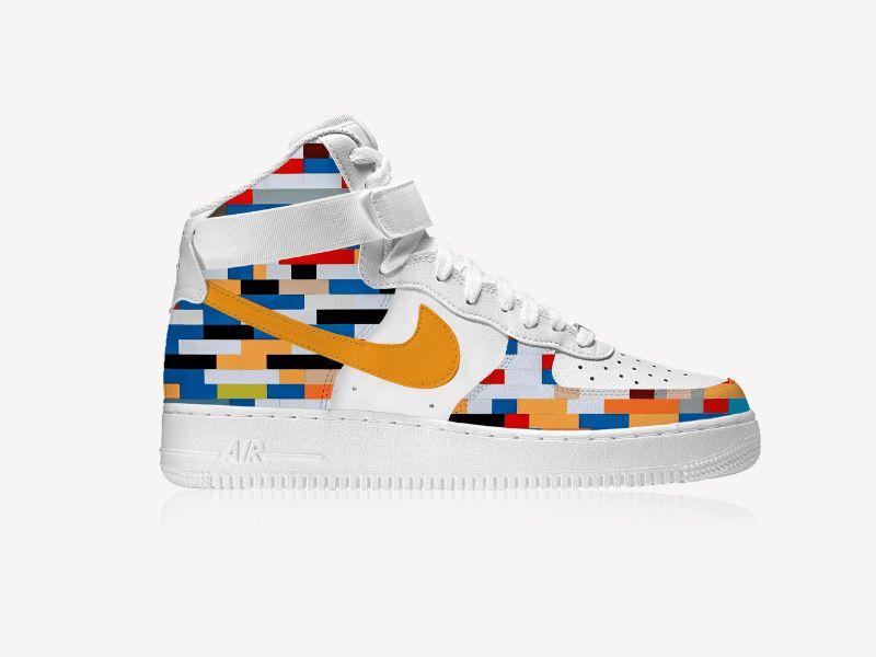Free Nike Air Mockup Psd Nike Air Designer Sneakers Mockup Psd