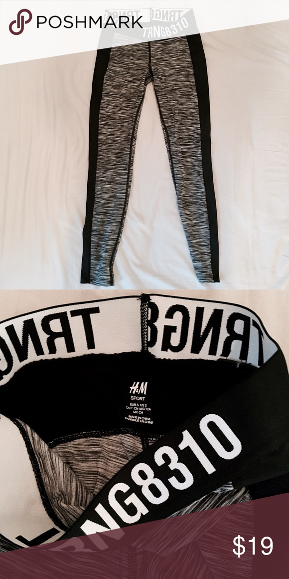 26286f8210 H&M sports leggings H&M / Size: small / Tight but stretchy / NWOT H&M Pants  Leggings
