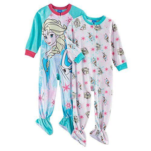 NEW DISNEY FROZEN QUEEN ELSA PRINCESS ANNA OLAF Fleece Robe Pajama Girl S 6//6X