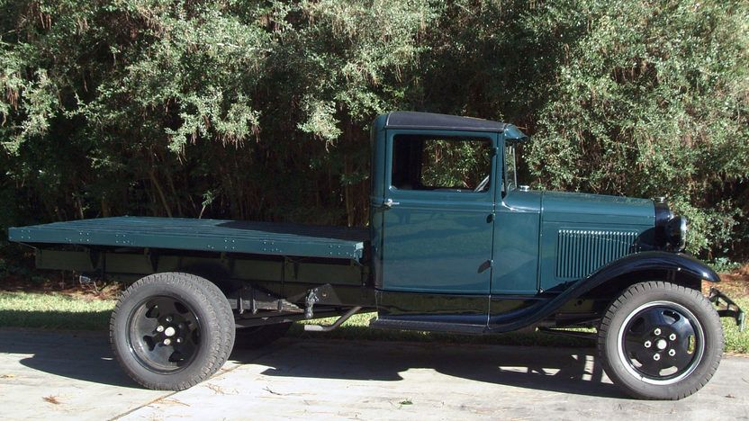 1930 Ford Model Aa Flat Bed 2 Ford Classic Cars Ford Models Ford