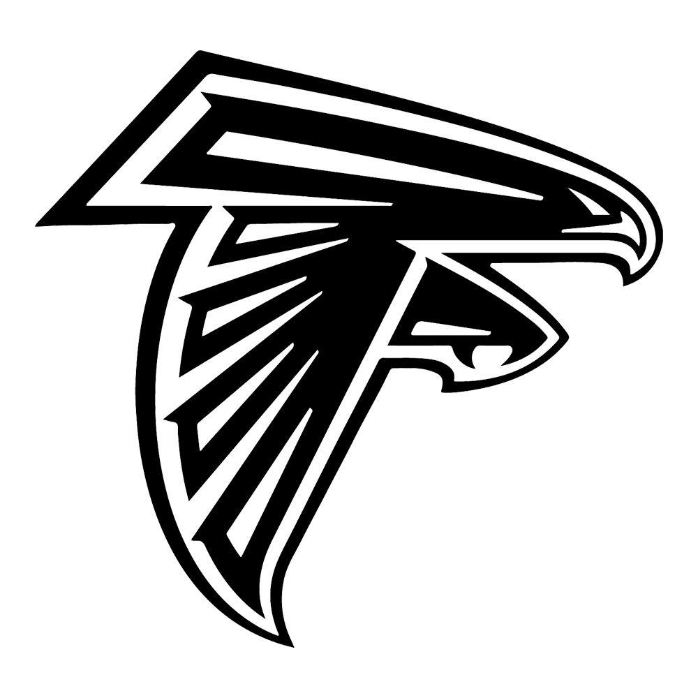 Atlanta Falcons Vinyl Sticker In 2020 Atlanta Falcons Logo Atlanta Falcons Vinyl Atlanta Falcons Decal