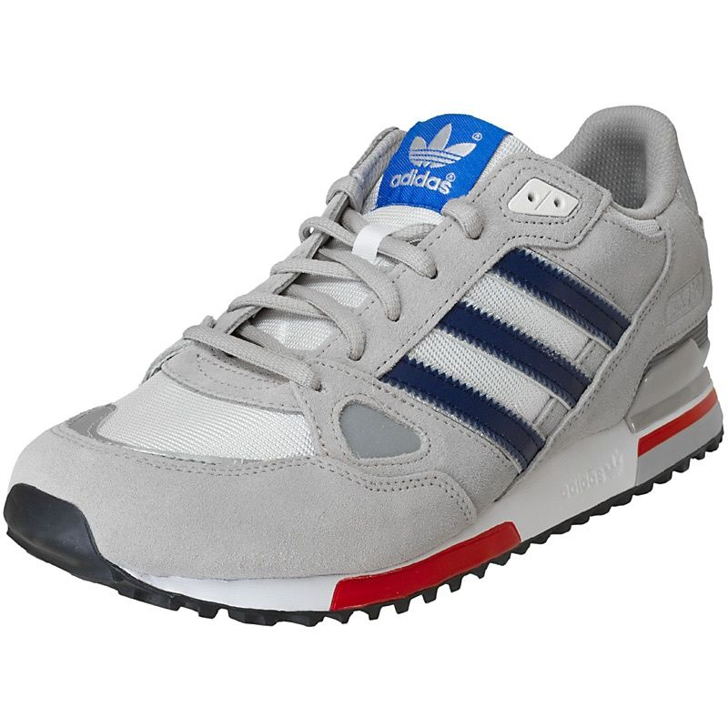 scarpe adidas zx 750 chrome / bianco / rasa gomas de hombres