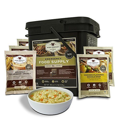 Wise Food Storage Reviews Wise Company 84 Serving Breakfast Entrã©E Grab And Go Food Kit