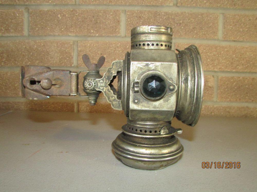 Rare Antique Kerosene Bicycle Lamp 1898 Matthews Willard Collectible Rare Antique Bicycle Antiques