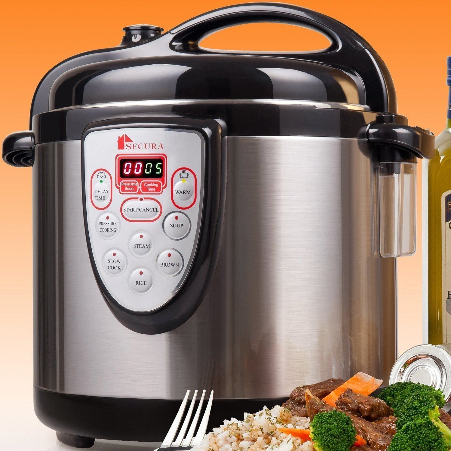 The fagor america lux pressure cooker acts as a in gadget for
