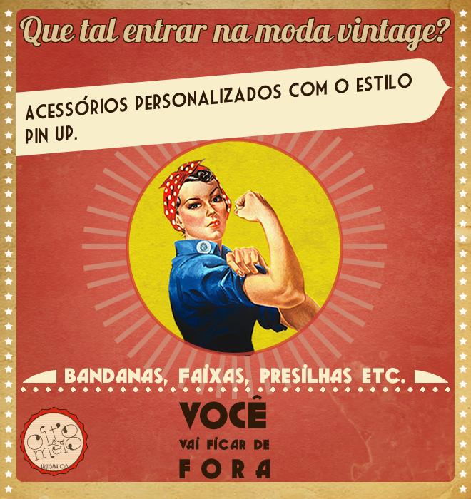 Flyer OITO & MEIO artesanatos