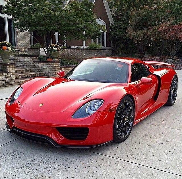 Nicest Porsche Cars Around: Porsche 918, Sports Cars Luxury