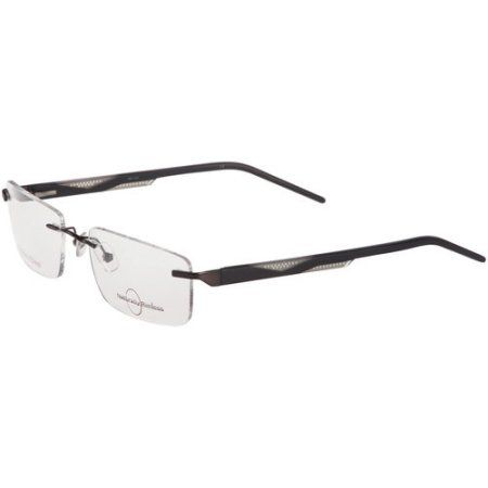 Naturally Rimless Men\'s Eyeglass Frames, Gunmetal | Stuff to Buy ...