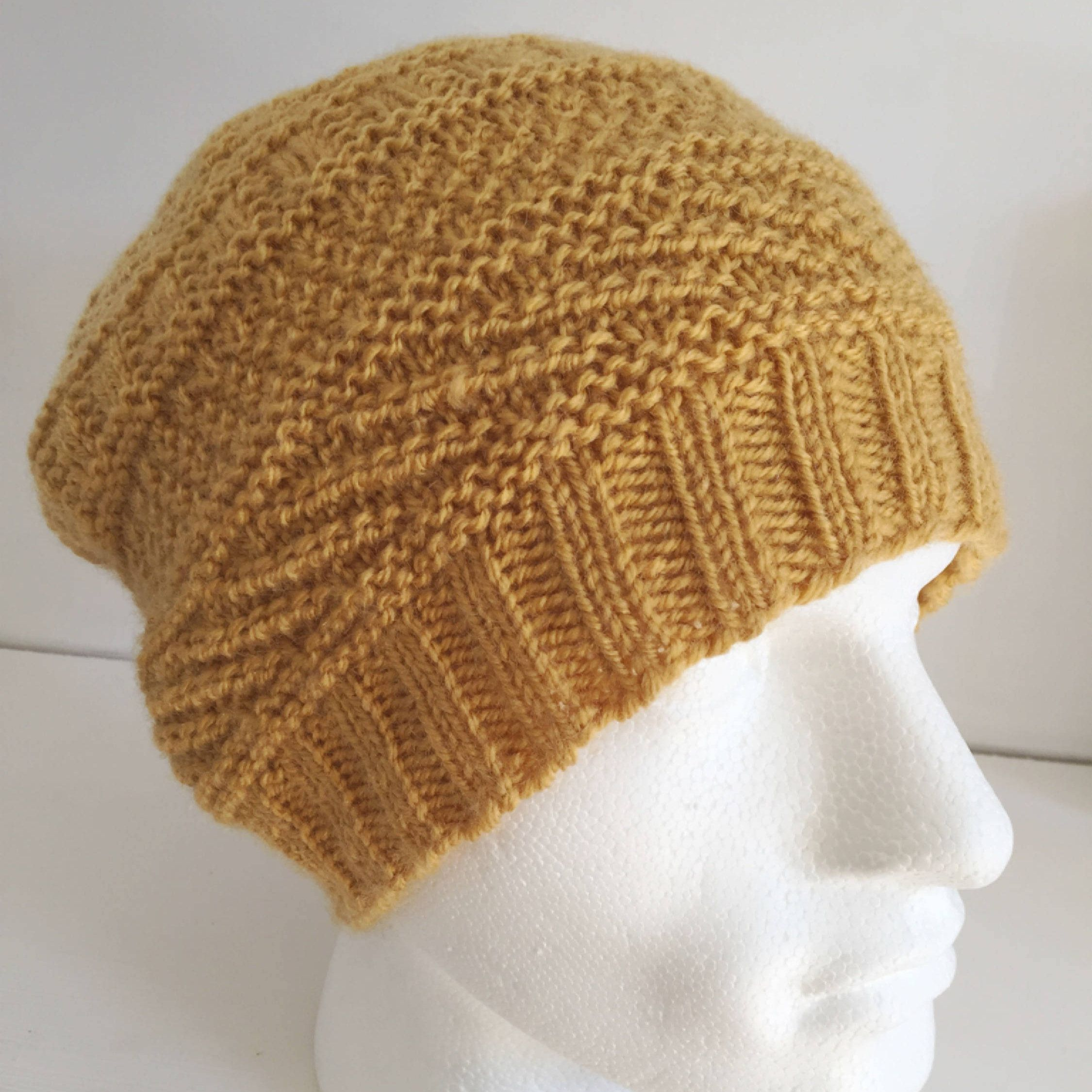 48e5e223495 Mustard Slouch Hat