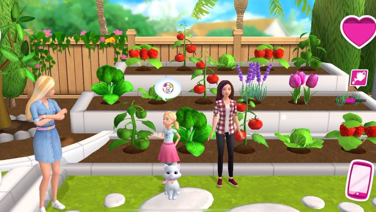 Barbie Dreamhouse Adventures Planting And Gardening Fruits