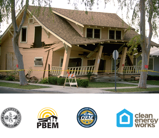 Get Earthquake Ready  Portland Residents: Sign up to be considered for a Seismic Rebate