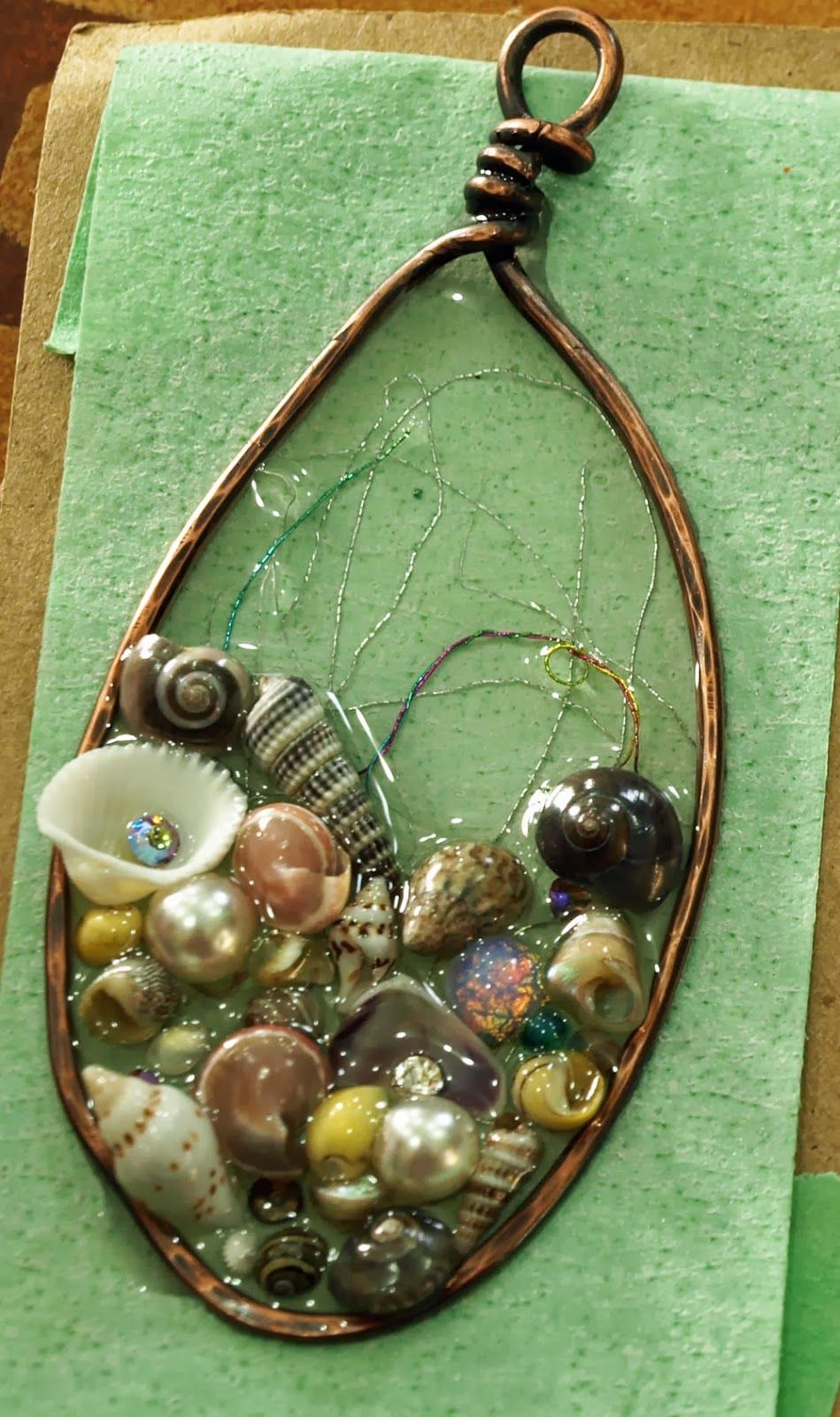 Pin by Cathy Casey on jewelry    | Resin jewelry, Jewelry