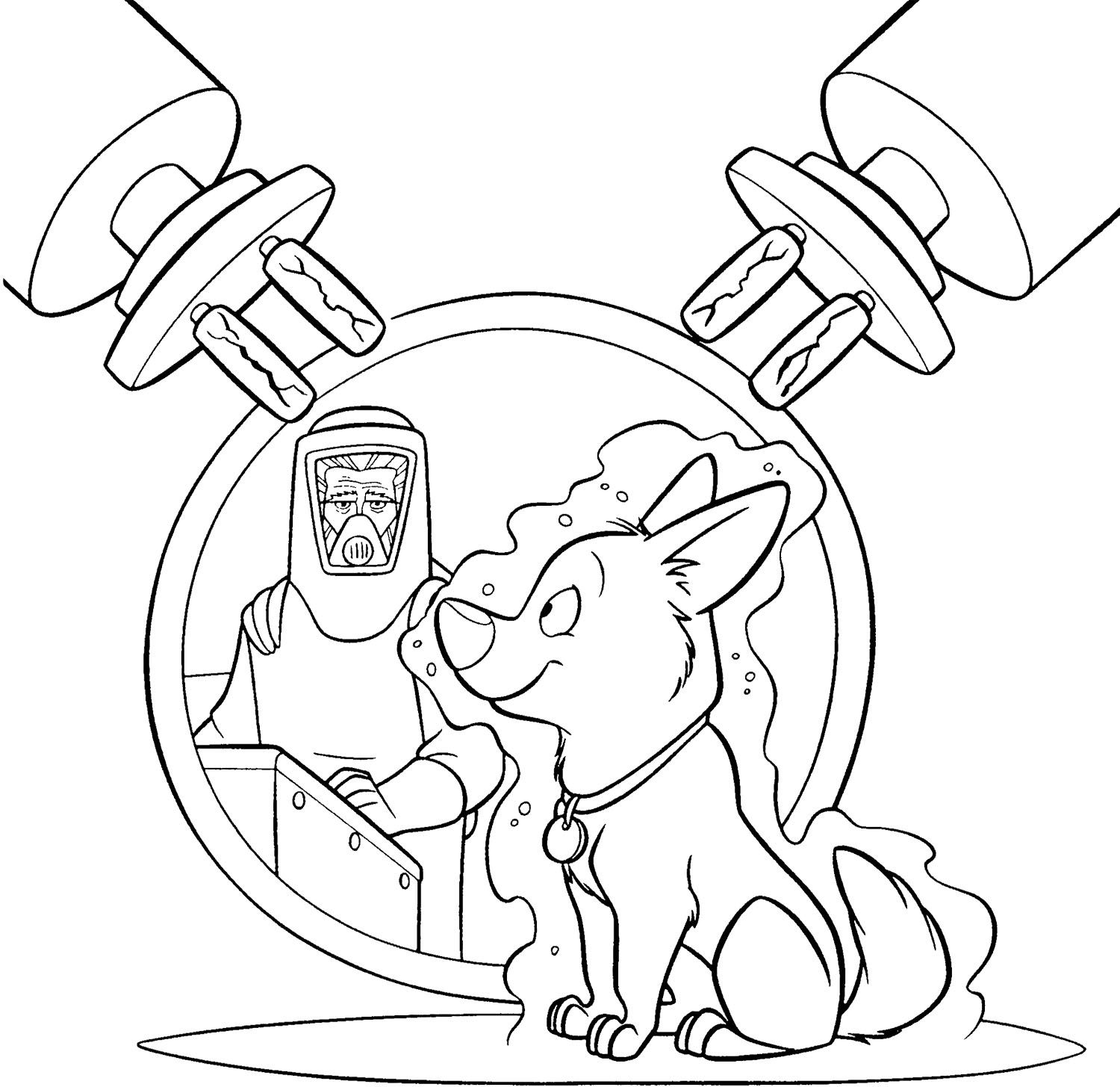 Bolt Experiment Coloring Page | Coloring pages | Pinterest