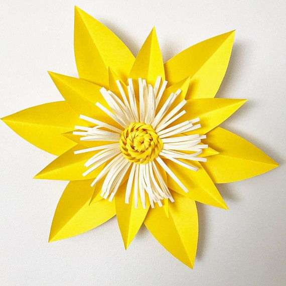 Pin En Flores De Papel